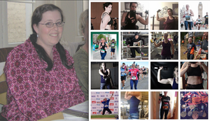 Before, when I overweight, and after when I had lost the weight, maintained it, found my health and my confidence