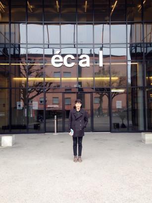 Master degree journal 01 : ecal