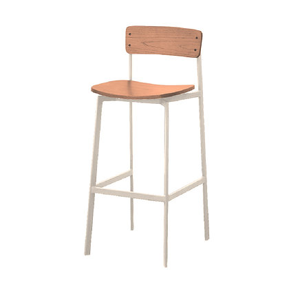 Angle Stool (Backrest)