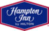 Hampton_Inn_BY_HILTON . blue and red bag