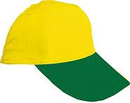 sarı şapka, yeşil şapka, şapka, promosyon, promosyon şapka, tekstil promosyon, toptan şapka
