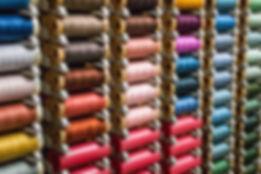 iş kıyafeti üretimi-renkli iplikler