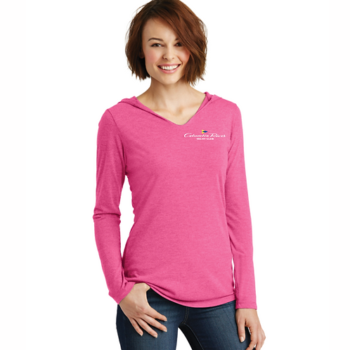 Ladies Hooded T-Shirt