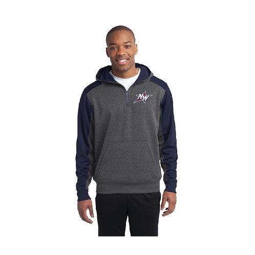 1/4 Zip Performance Hooded Sweatshirt