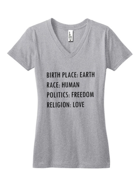 Earth. Human. Freedom. Love.