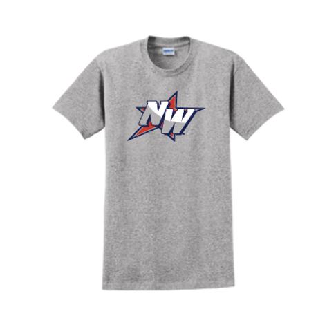 Short Sleeve Cotton T-Shirt-NW Logo