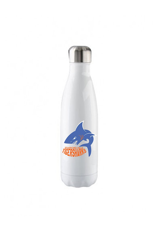 Tiger Sharks Stainless Steel Water Bottle