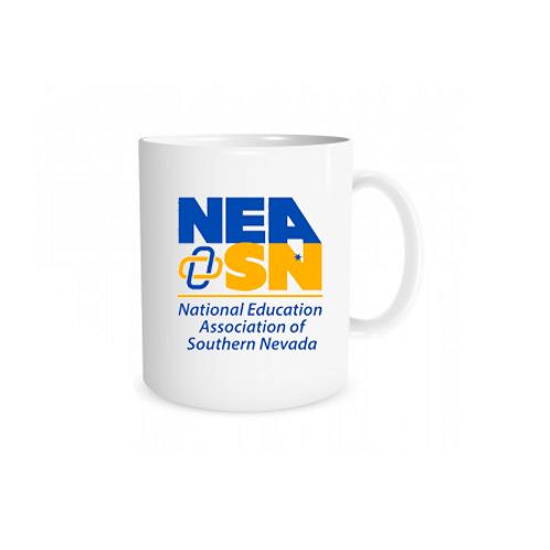11oz White NEASN Logo Mug