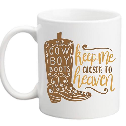 Cowboy Boots Mug