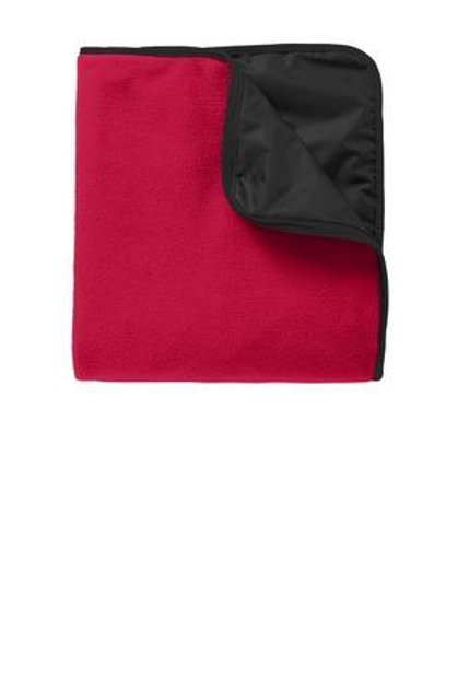 Fleece and Poly Outdoor Sports Blanket