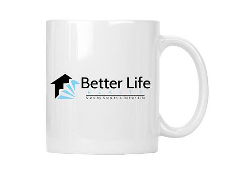 Better Life White Mug 11oz