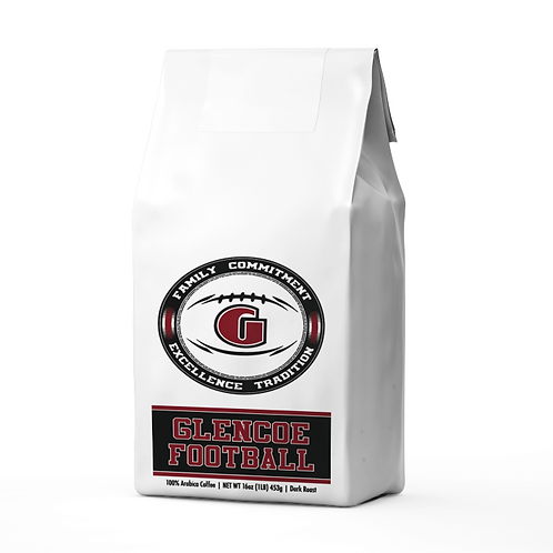 Glencoe Football 1 LB Dark Roast Coffee