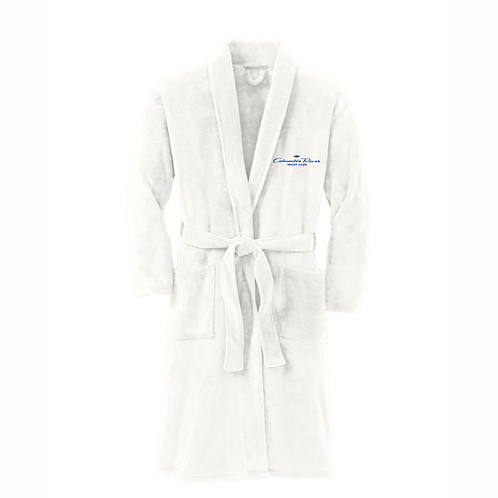 Unisex Plush Microfleece Robe