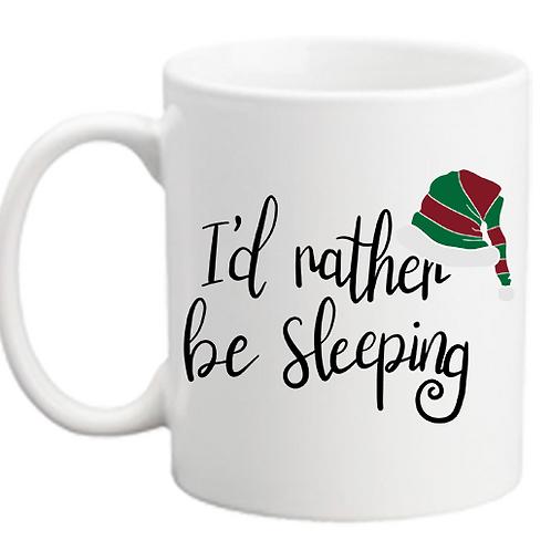 Rather Be Sleeping Mug