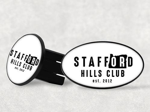 Stafford Hills Club Trailer Hitch Cover
