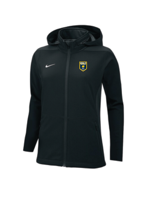 Oregon Premier Nike Women's Sphere Hybrid Jacket Black
