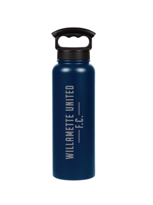 WUFC FiftyFifty 40oz Stainless Steel WaterBottle