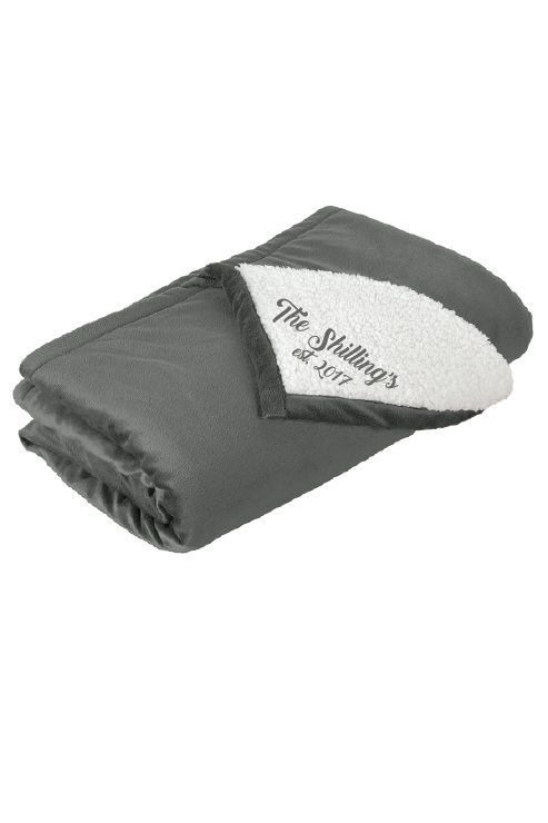 Personalized Winter Blanket