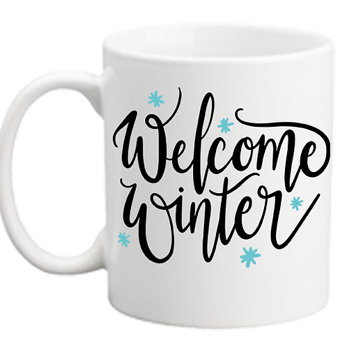 Welcome Winter Mug