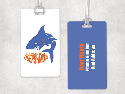 Tiger Sharks Bag Tag