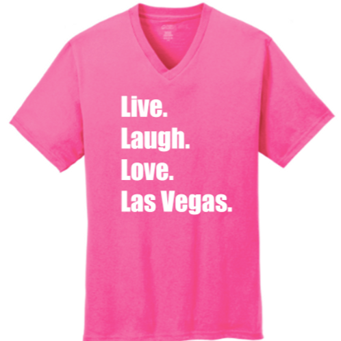 Live. Love. Las Vegas V-Neck