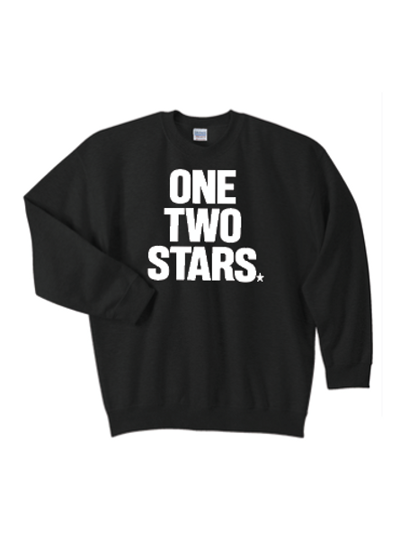 Crew Neck Sweatshirt - One Two Stars Logo