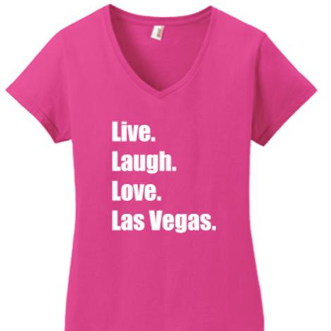 Live. Love. Las Vegas. Ladies