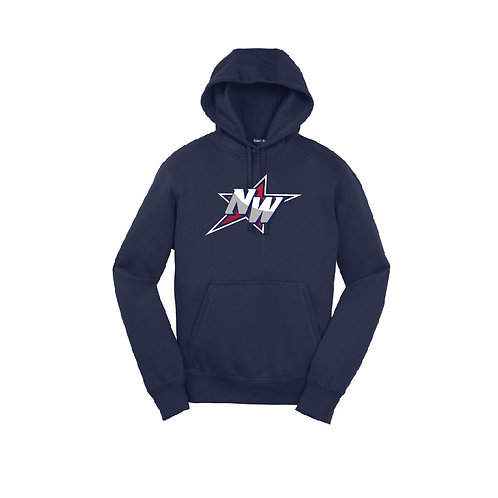 Cotton Hooded Sweatshirt - NW Logo