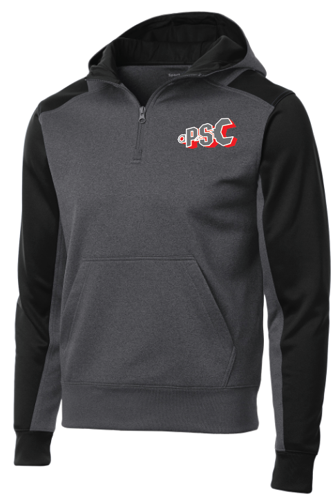 PSC Sport-Tek® 1/4-Zip Hooded Sweatshirt