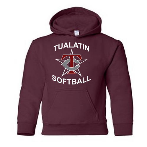 Gildan Youth Heavy Blend Hooded Sweatshirt