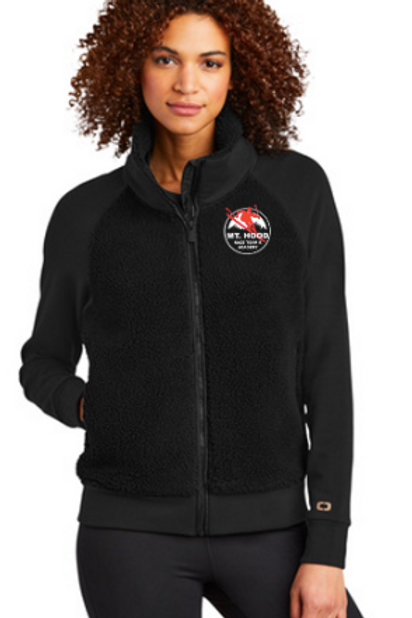 OGIO® Ladies Luuma Sherpa Full-Zip