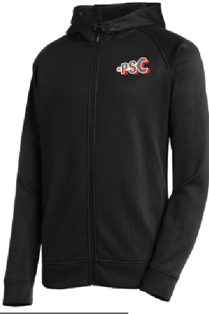 PSC Sport-Tek® Rival Tech Fleece Full-Zip Hooded Jacket