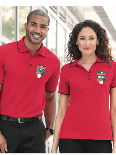 We took the classic, moisture-wicking Rapid Dry™ pique polo everyone knows and l