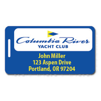 Columbia River Yacht Club Bag Tag
