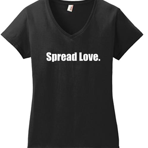 Spread Love V-Neck Ladies