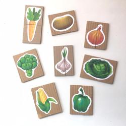 Puzzle Verduras