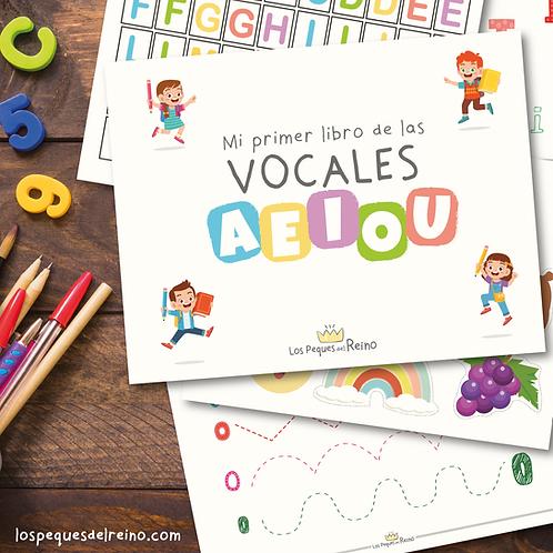 Mi primer libro de las Vocales - Descargable