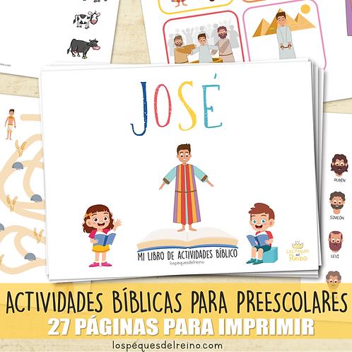 JOSÉ - Libro de actividades bíblicas para Preescolar