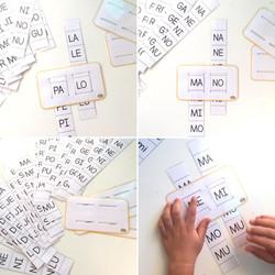 juego sílabas