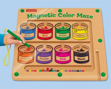 Magnetic Color Maze