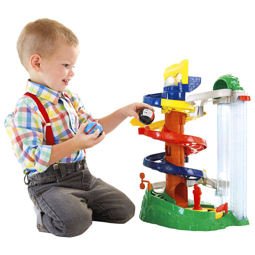 Fisher-Price My First Thomas and Friends Rail Rollers Spiral Station Play Set