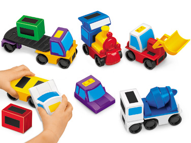 Mix and Match Magnetic Vehicles