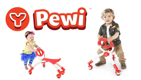 Pewi Walker and Ride on