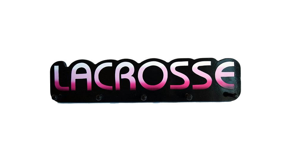 Lacrosse Word Plaque