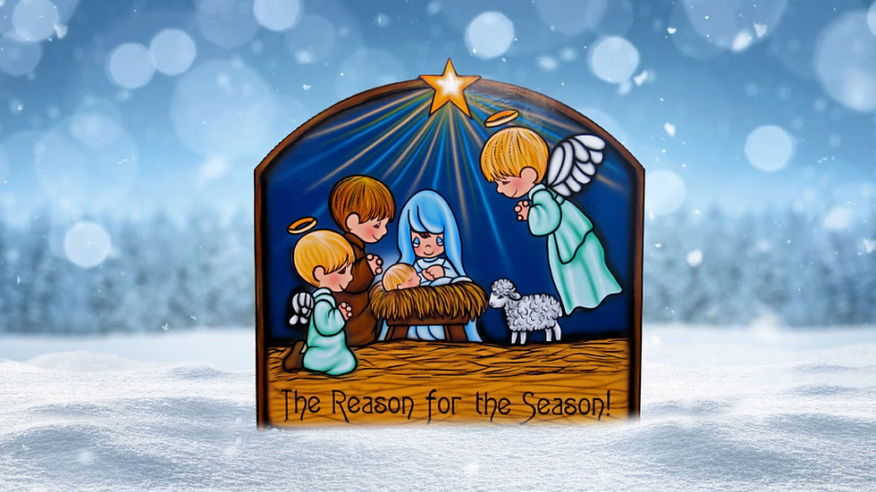The Reason for the Season Nativity