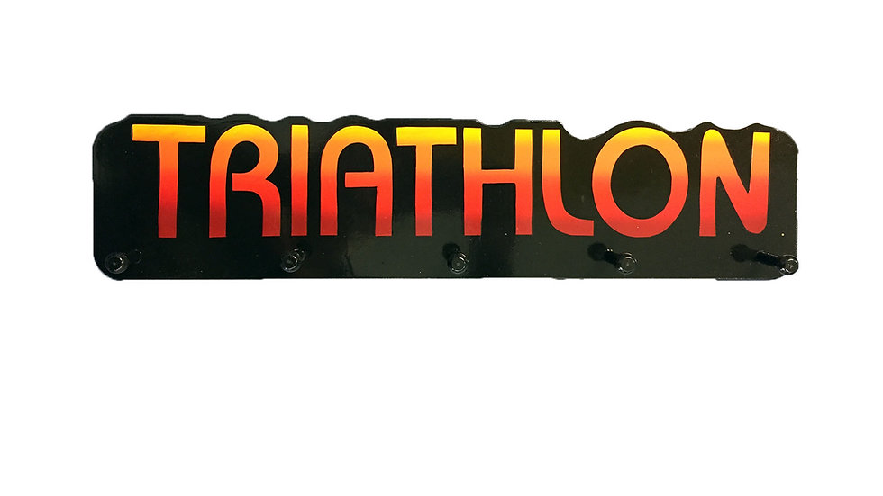 Triathalon Word Plaque