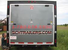 SCHG Trailer Rear Door