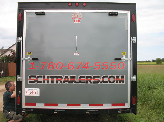 SCHG Trailer Rear Door