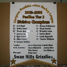 Championship team banners