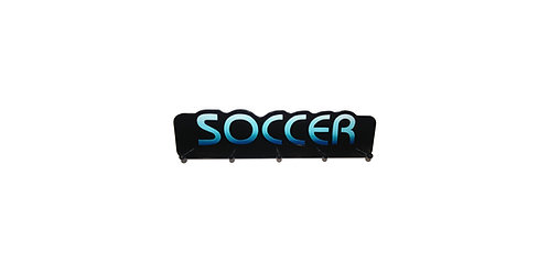 Soccer Word Plaque